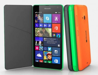 Lumia 535 by Microsoft is the first Lumia without the Nokia name