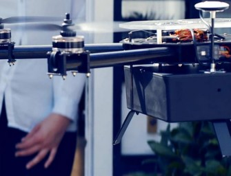 Bizzby Sky drones can deliver goods from peer to peer
