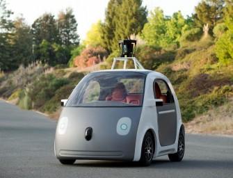 Google's fully functional Self Driving car's design revealed