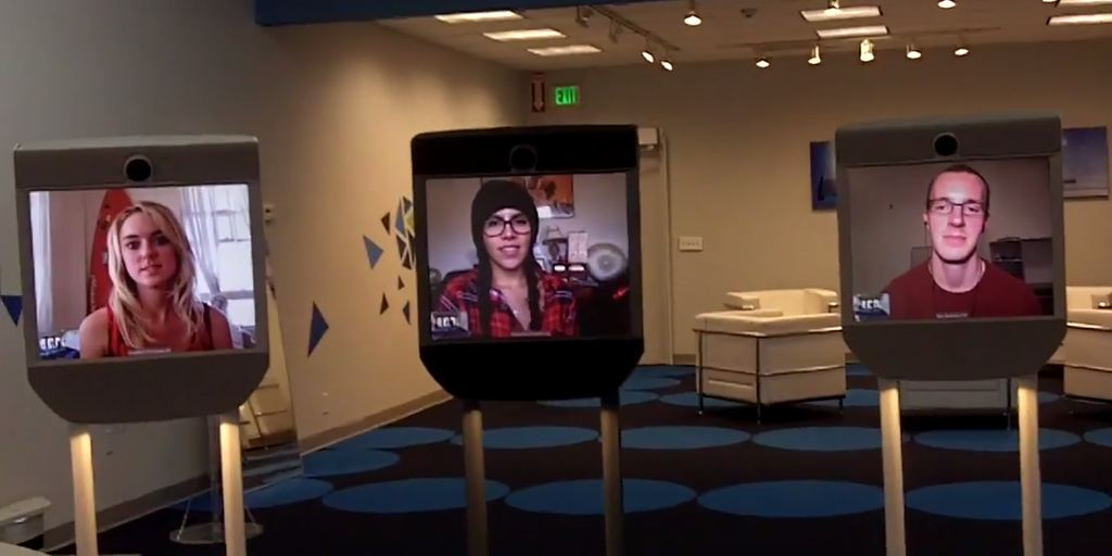 Telepresence Beam Robots Sell Themselves In California