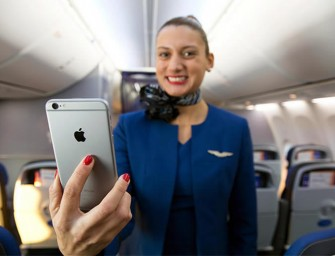 United Airlines will give 23,000 iPhone 6 Plus to its attendants
