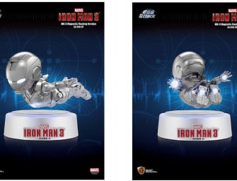 Hobby Link Japan's Awesome Iron Man 3 Mark II Figure Actually Floats in Mid-Air