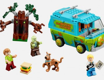 Official Scooby Doo LEGO sets are on their way