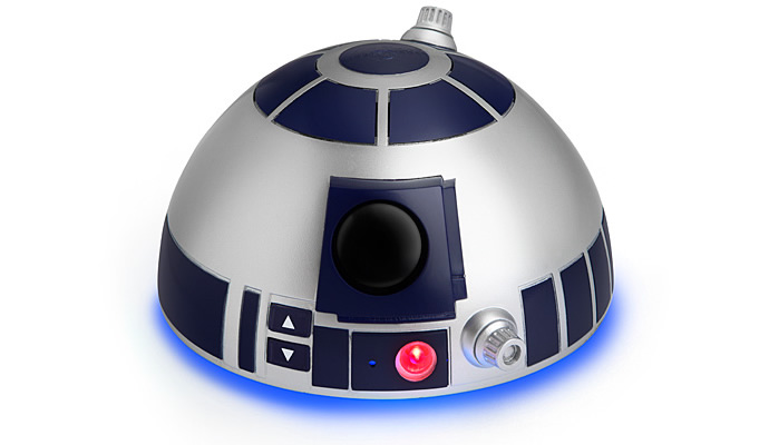 This Decapitated R2 D2 Head Is Actually A Bluetooth Speaker