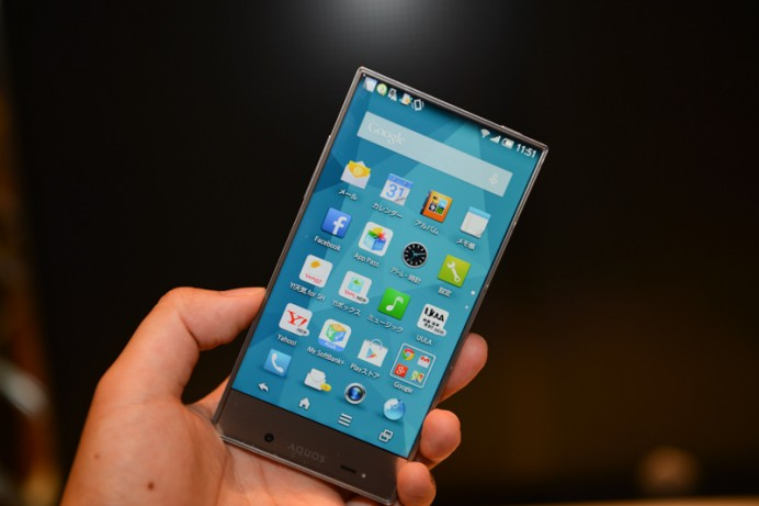 Sharp Aquos crystal is the worlds thinnest Android smartphone |
