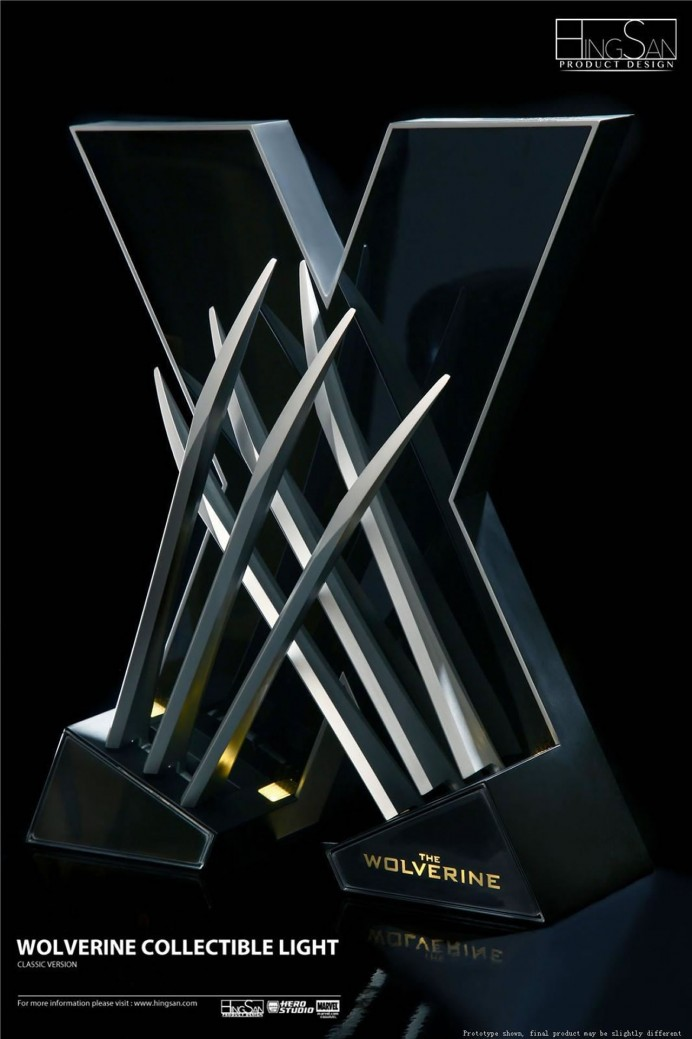 Hingsan's Wolverine Collectable Lamp-4
