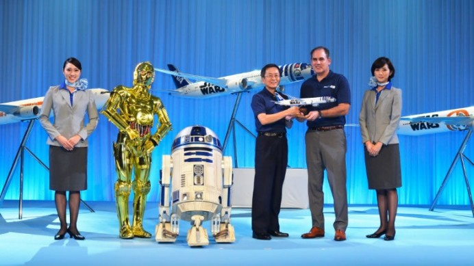 ANA Japan announces Star Wars Force Awakens planes 2