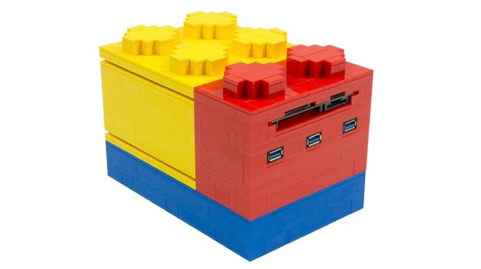 Lego-shaped desktop machine 2
