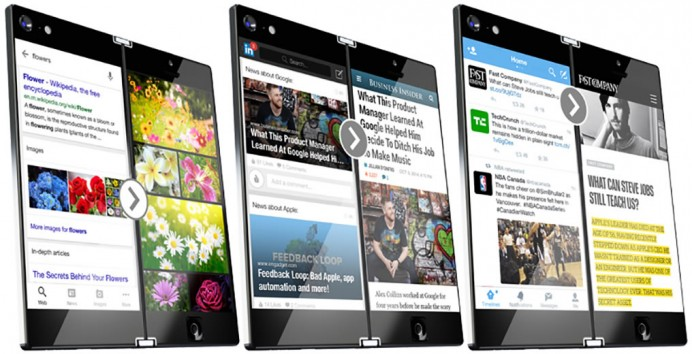 Lunark foldable smartphone concept 4
