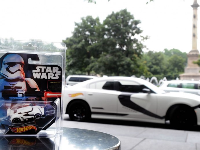Uber Dodge Chargers become Star Wars Stormtroopers 5