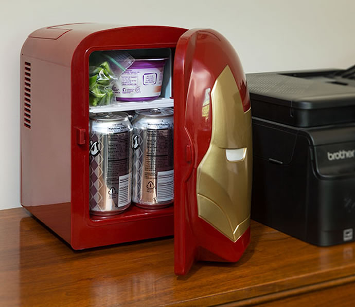 Iron Man Mini Fridge 2