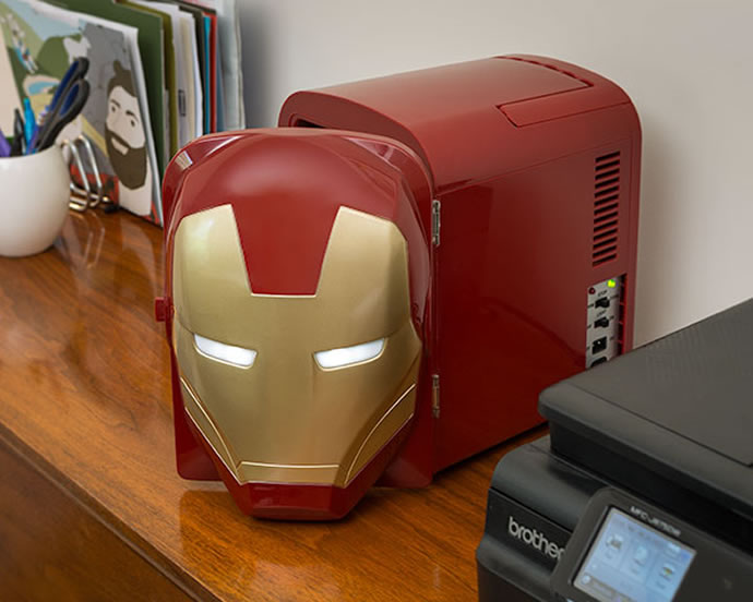 Iron Man Mini Fridge 3