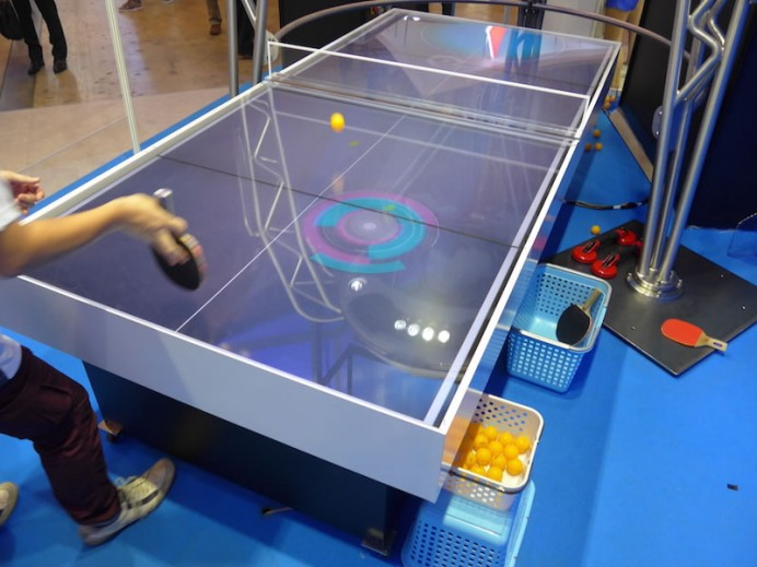 Table Tennis robot 1